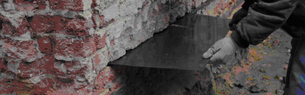 osuszanie fundamentów metodą podcięcia muru